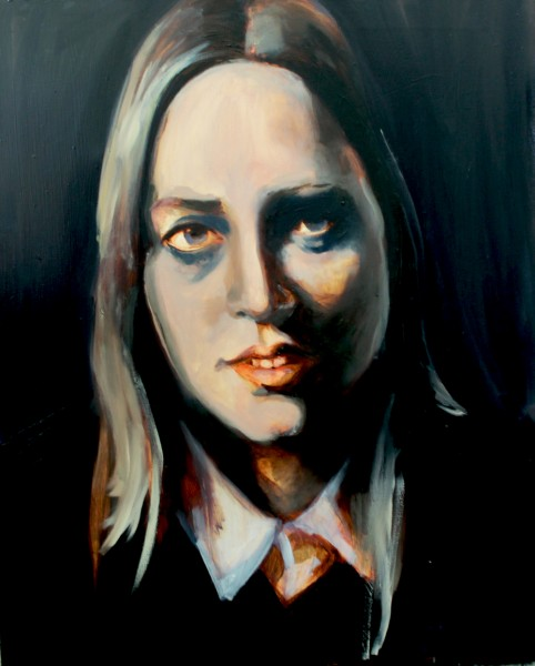 Annelies, Oil on canvas 65x80cm, (s)2015
